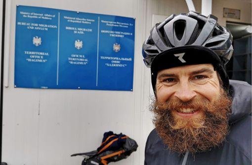 Extremsportler Jonas Deichmann radelt um die Welt
