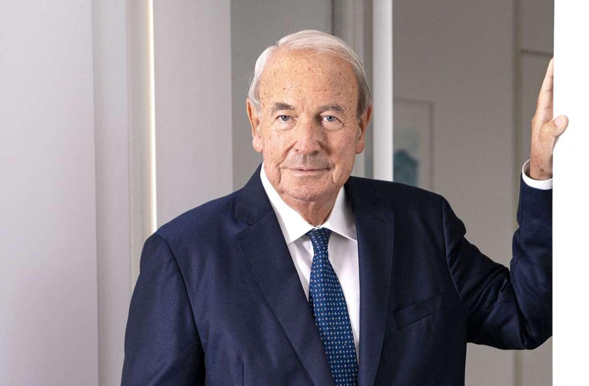 Heinz Hermann Thiele ist im Alter von 79 Jahren gestorben. Foto: AFP/HANDOUT