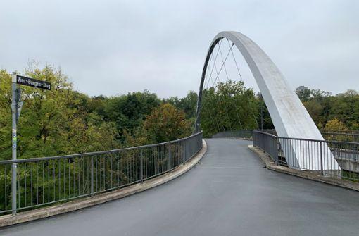 Über diese Brücke sollt ihr geh'n (oder radeln)