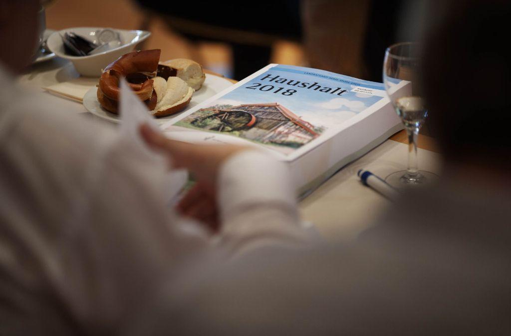 In den Haushaltsreden ging ees unter anderem um die künftige Höhe der Kreisumlage. Foto: Gottfried Stoppel