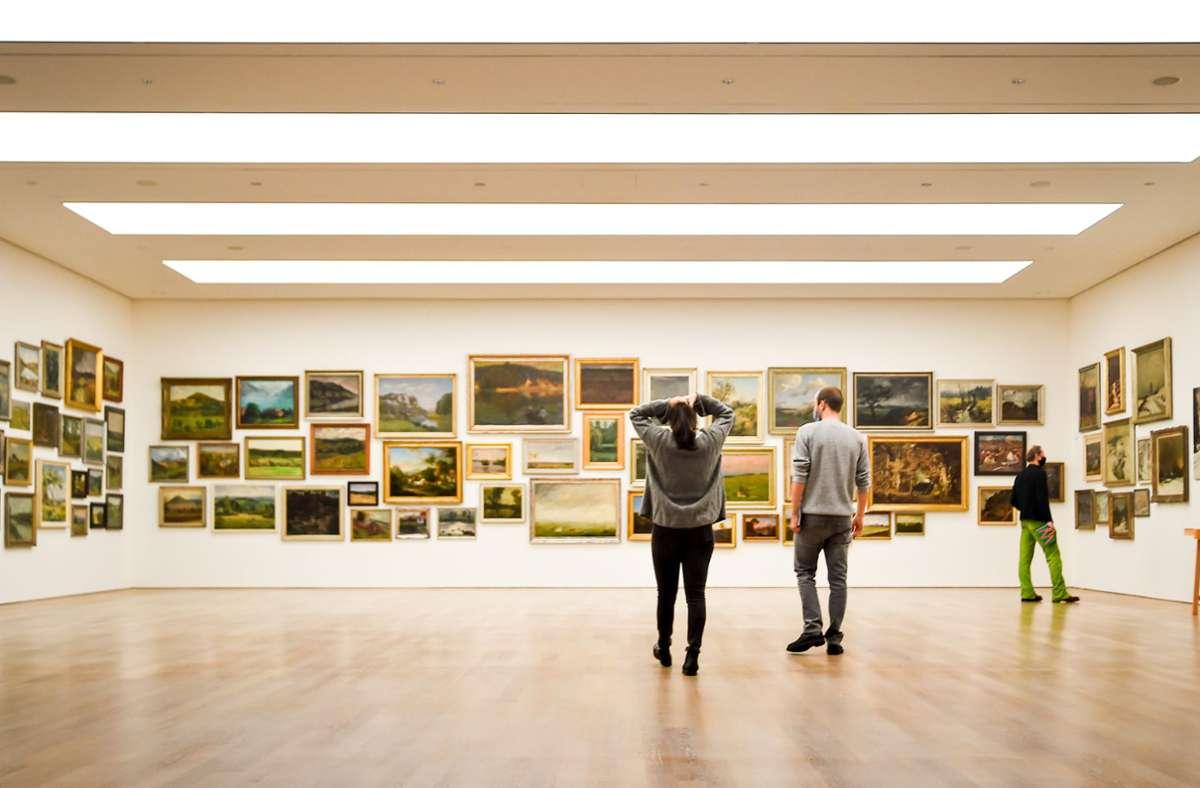 Um Kultur zu erleben, muss man nicht unbedingt vor Ort sein. Auch digital gibt es bei vielen Museen unter anderem Ausstellungsrundgänge. (Archivbild) Foto: Lichtgut/Ferdinando Iannone