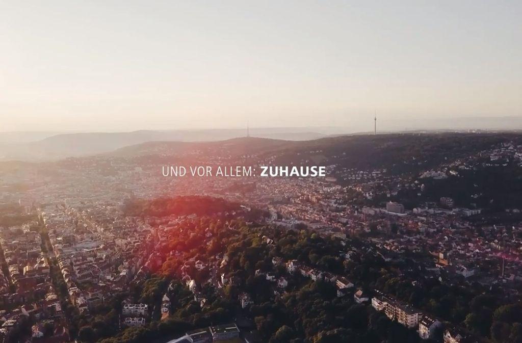 Stuttgart von oben: Dank der Kessellage kennen wir den weiten Blick über unsere Stadt. Foto: vimeo.com/heywemake