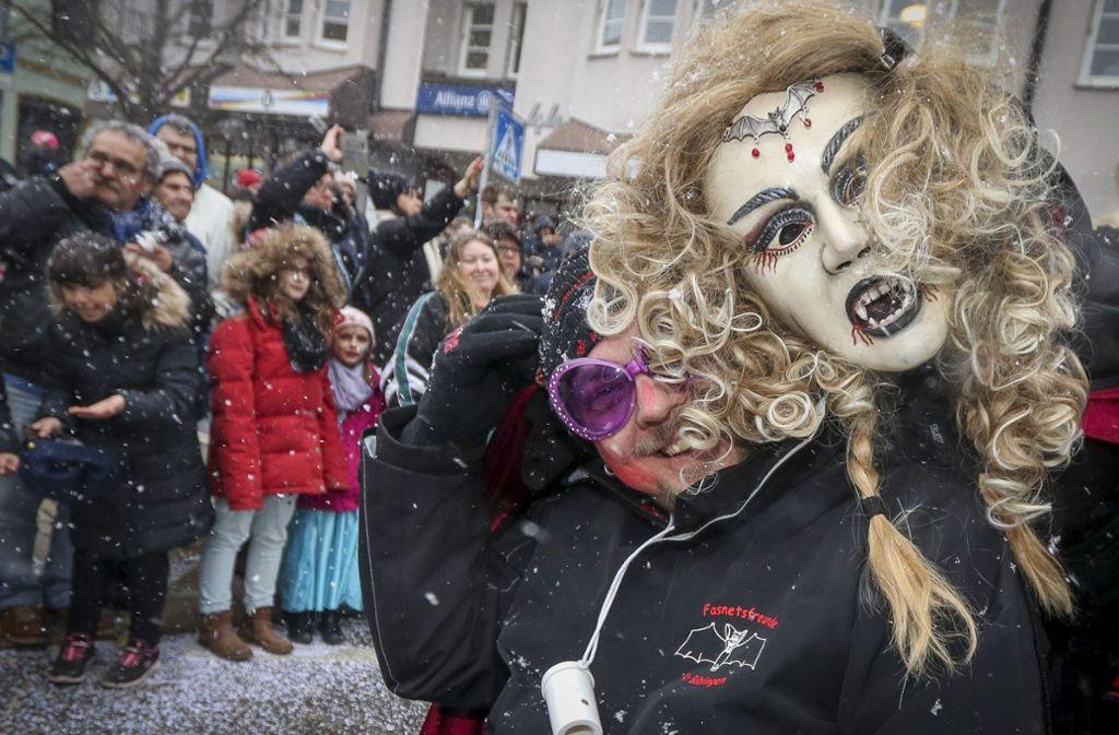 Der Faschingsumzug in Böblingen ist einer der Höhepunkte in der fünften Jahreszeit. Foto: factum/Granville