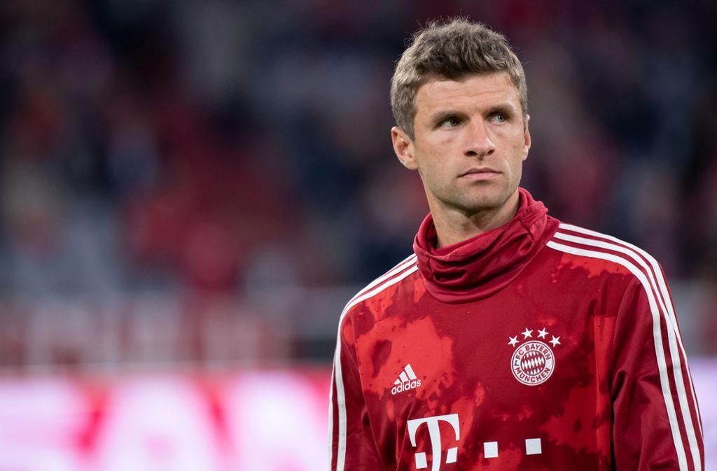 Wieder nur Reservist: FC Bayern-Profi Thomas Müller. (Archivbild) Foto: dpa/Sven Hoppe