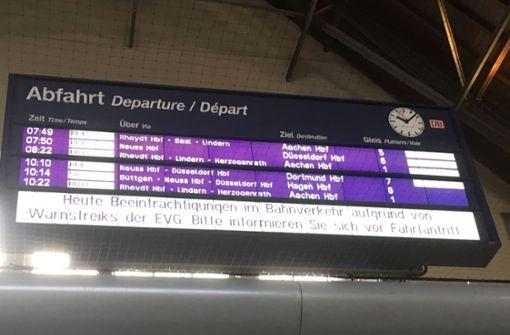 Für die Fans des VfB Stuttgart gestaltet sich die Abreise doppelt schwierig