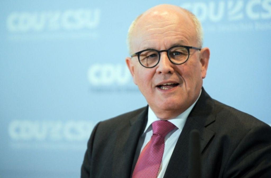 Volker Kauder setzt sich seit mehr als zehn Jahren für  Religionsfreiheit  ein. Foto: dpa