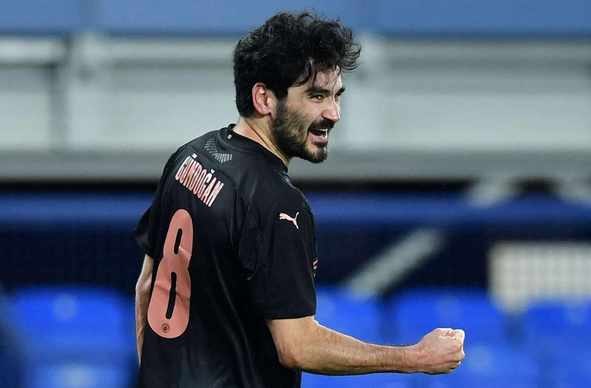 Nationalspieler Ilkay Gündogan. Foto: AFP/PAUL ELLIS
