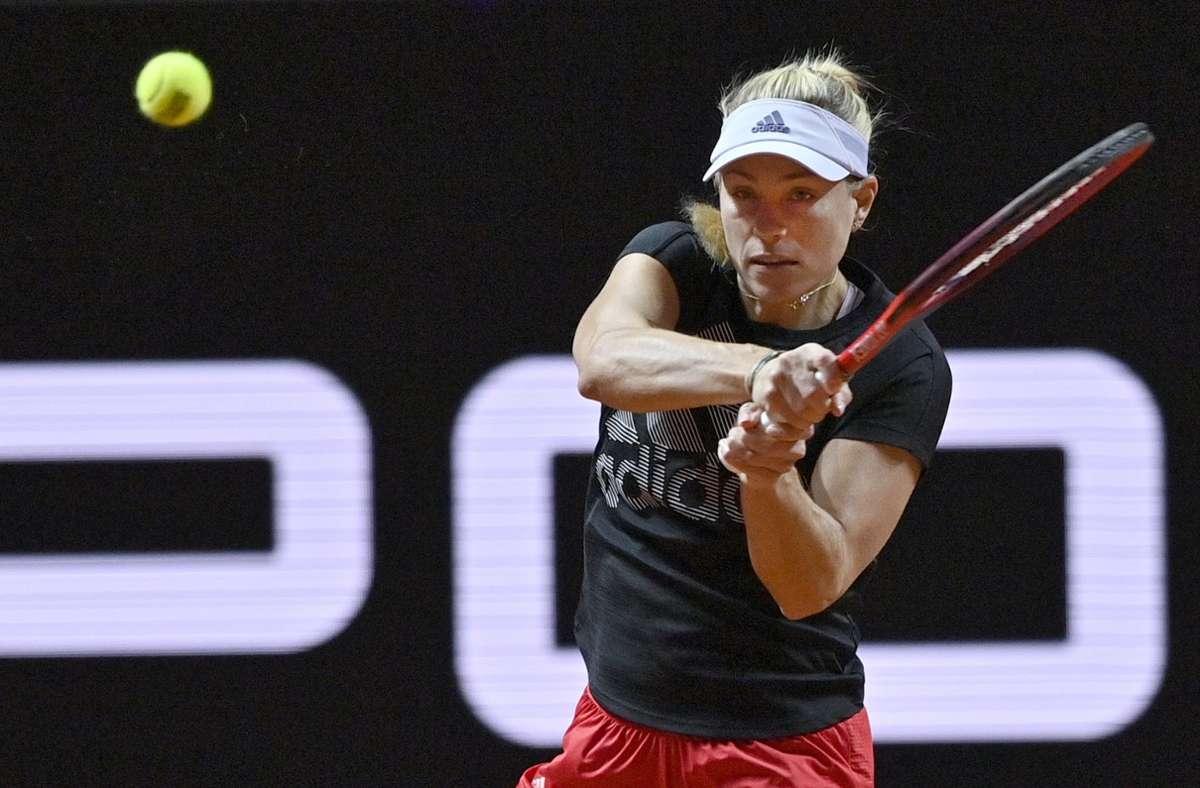 Angelique Kerber trifft in der ersten Runde auf eine Qualifikantin. Foto: Pressefoto Baumann/Pressefoto Baumann