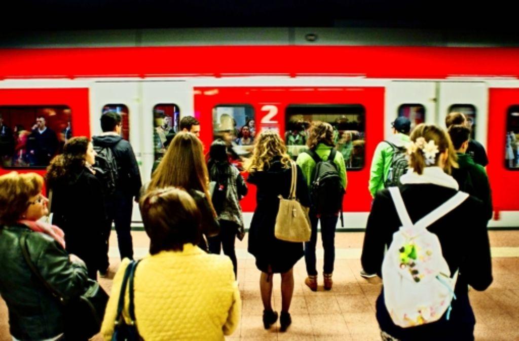 Die S-Bahnen in Stuttgart und der Region sollen pünktlicher werden. Foto: Lichtgut/Kovalenko