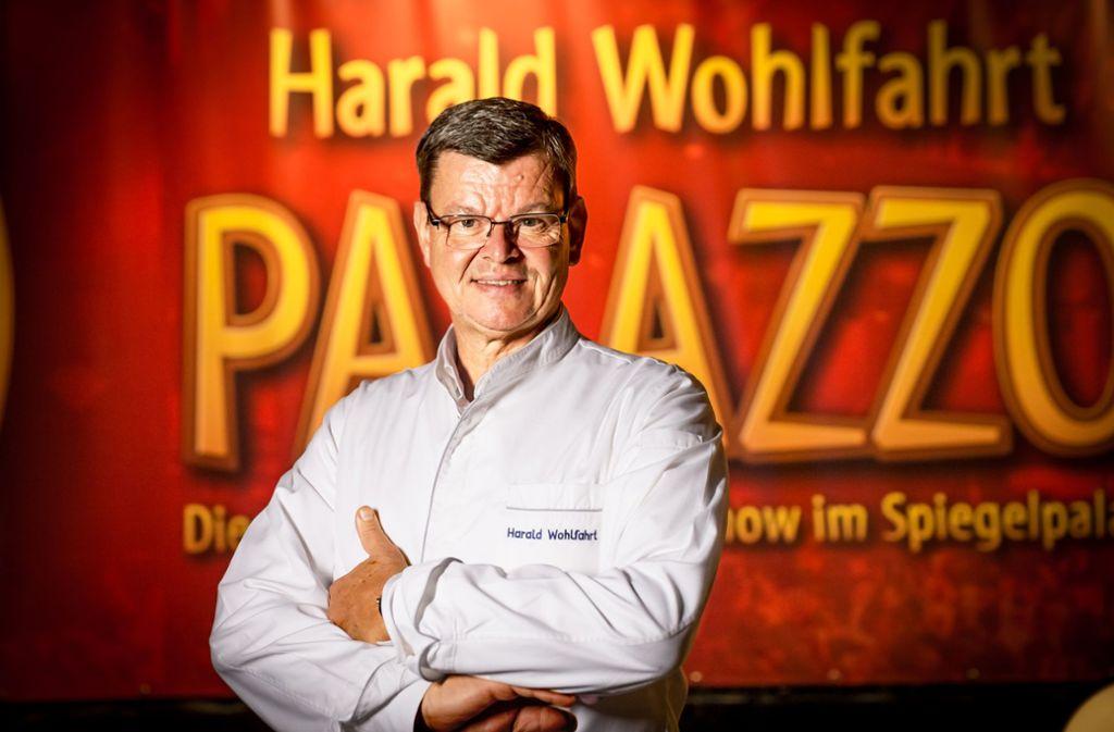 Auf der Plattform www.meisterklasse.de gibt  Palazzo-Partron Harald Wohlfahrt Online-Kurse. Foto: Lichtgut/Julian Rettig