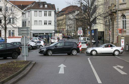 Fußgängerzonen gegen Parksuchverkehr