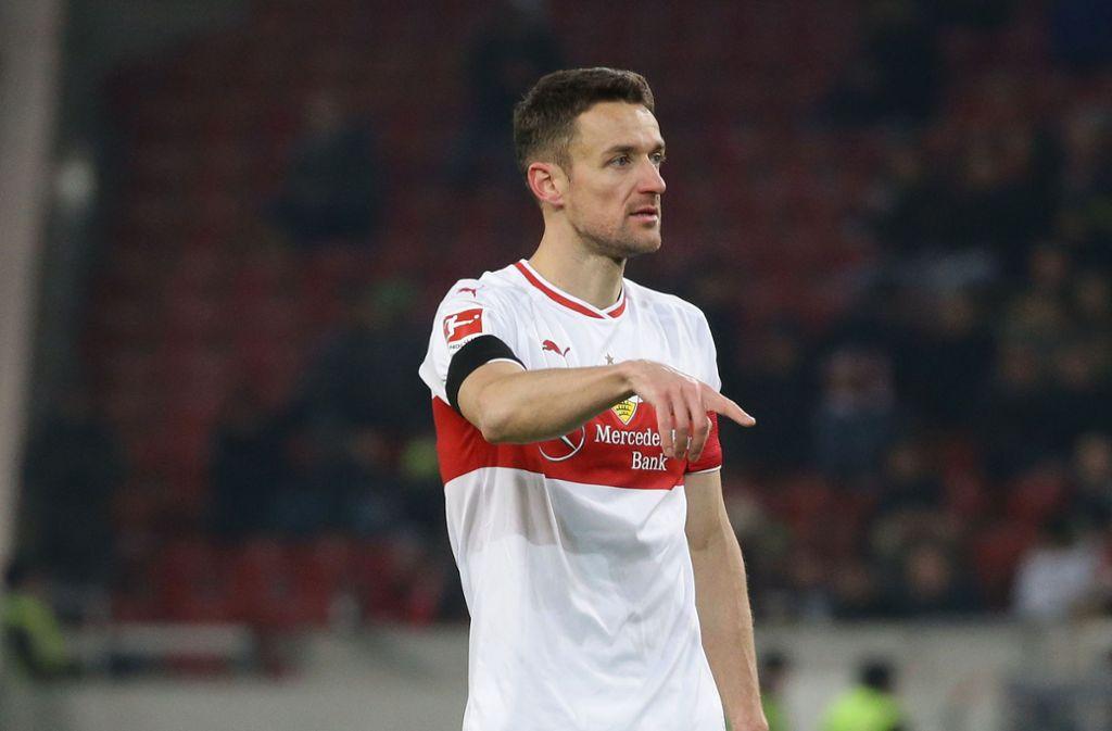 Christian Gentner wird trotz des Verlusts seines Vaters in Wolfsburg spielen. Foto: Baumann