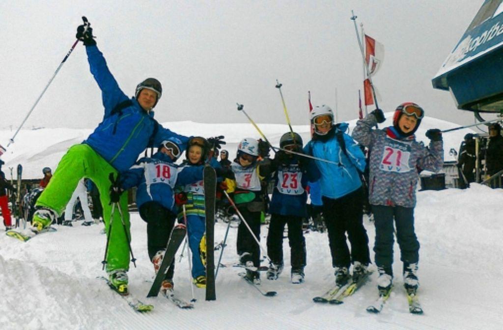 Beim Schi- Verein Vaihingen wird auch Ski gefahren. Foto: privat