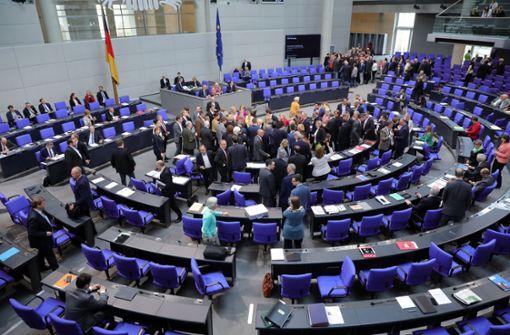 FDP will im Bundestag nicht mehr neben der AfD sitzen