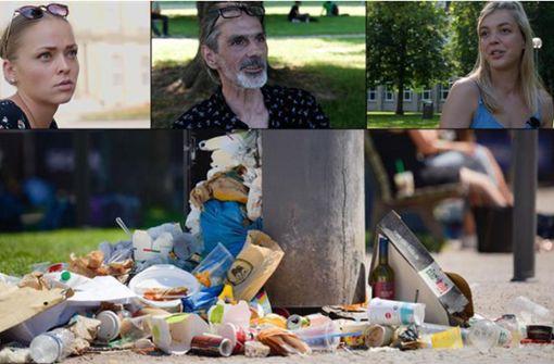 Das sagen die Stuttgarter zur Müllproblematik
