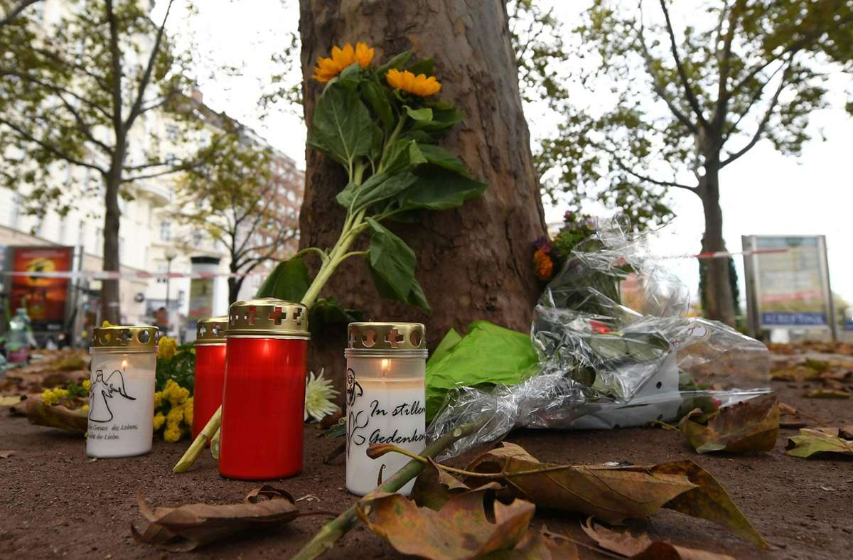 Auch eine Deutsche befindet sich unter den vier Todesopfern des Terroranschlags in Wien. Foto: dpa/Helmut Fohringer