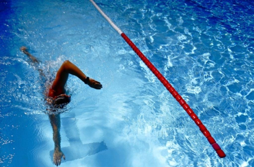 Die Schwimmer des SV Waiblingen müssen nach Winnenden ausweichen. Foto: Gottfried Stoppel