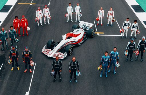 Das ist das neue Formel-1-Auto für 2022