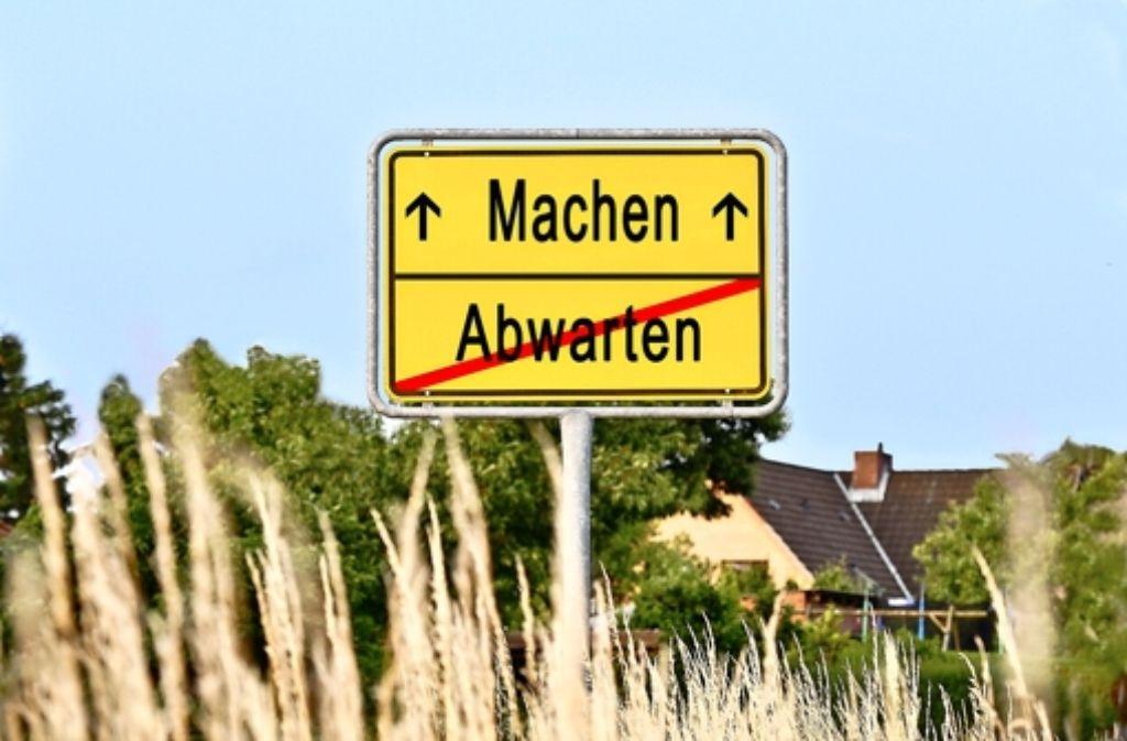 Machen statt abwarten: Schwarz, Albiez und Weigerding sind Macher. Foto: Fotolia