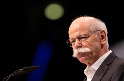 Ex-Vorstandschef Dieter Zetsche wird doch nicht Aufsichtsrat