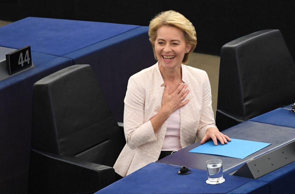 Deutschland: Die Christdemokratin Ursula von der Leyen war die Überraschungskandidatin der EU-Staats- und Regierungschefs und wurde Mitte Juli vom EU-Parlament mit knapper Mehrheit gewählt. In Deutschland war die in Brüssel geborene und mehrsprachige Mutter von sieben Kindern unter anderem Familien-, Sozial- und Verteidigungsministerin. Klicken Sie sich durch die neue Kommission Foto: dpa
