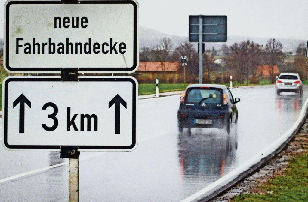 Autofahrer müssen sich von April an auf eine Baustelle   zwischen Leonberg und dem Abzweig Gerlingen einstellen. Foto: factum/Granville