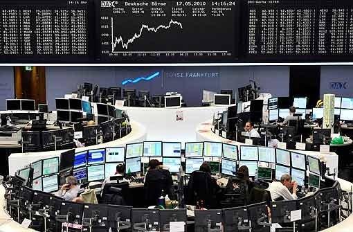 Ausverkauf am deutschen Aktienmarkt