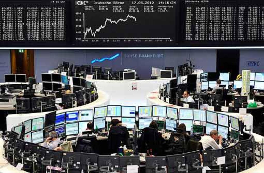 Die französischen Bankaktien erholen sich langsam. Foto: dpa