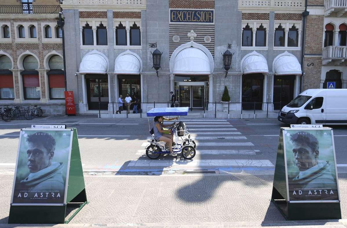 """In den vergangenen Jahren konnten die Filmfestspiele von Venedig stets Hollywood-Filme wie hier """"Ad Astra"""" präsentieren. Das wird 2020 anders sein. Foto: dpa/Arthur Mola"""