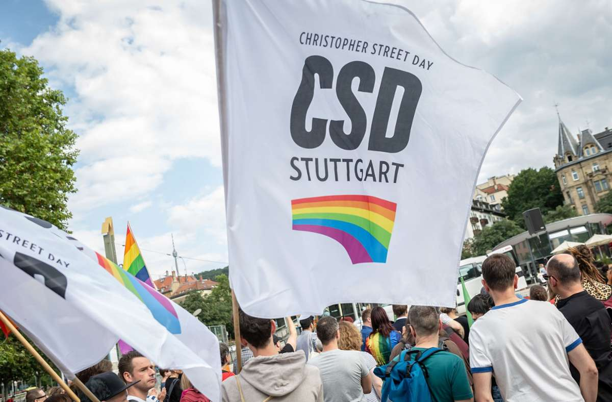 Die Interessengemeinschaft CSD Stuttgart kündigt an, die Christopher-Street-Day-Demonstration in anderer Form fortzusetzen. Foto: Lichtgut/Julian Rettig/Julian Rettig