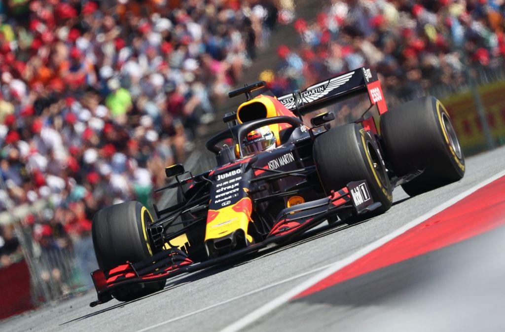 Max Verstappen raste beim Grand Prix in Spielberg zu seinem sechsten Karriere-Sieg. Foto: AFP