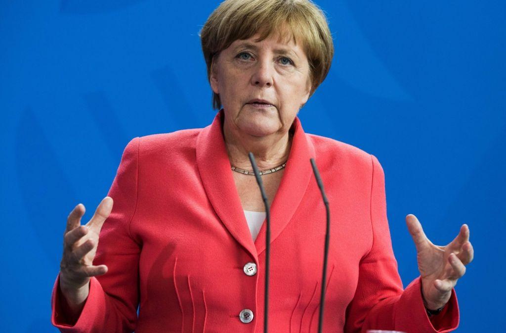 Bundeskanzlerin Angela Merkel landet laut Forbes erneut auf Platz eins der mächtigsten Frauen der Welt. Foto: AFP