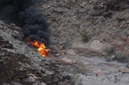 Drei tote Touristen bei Hubschrauber-Absturz