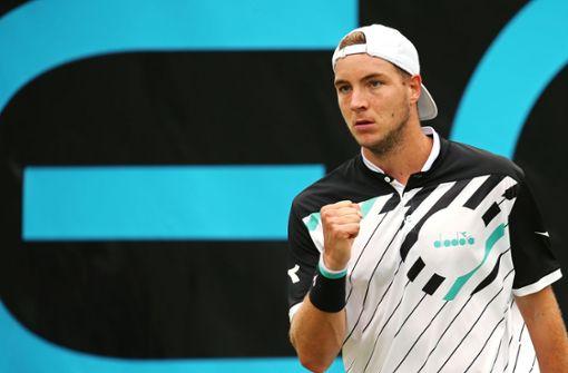 Struff erstmals im Viertelfinale in Stuttgart