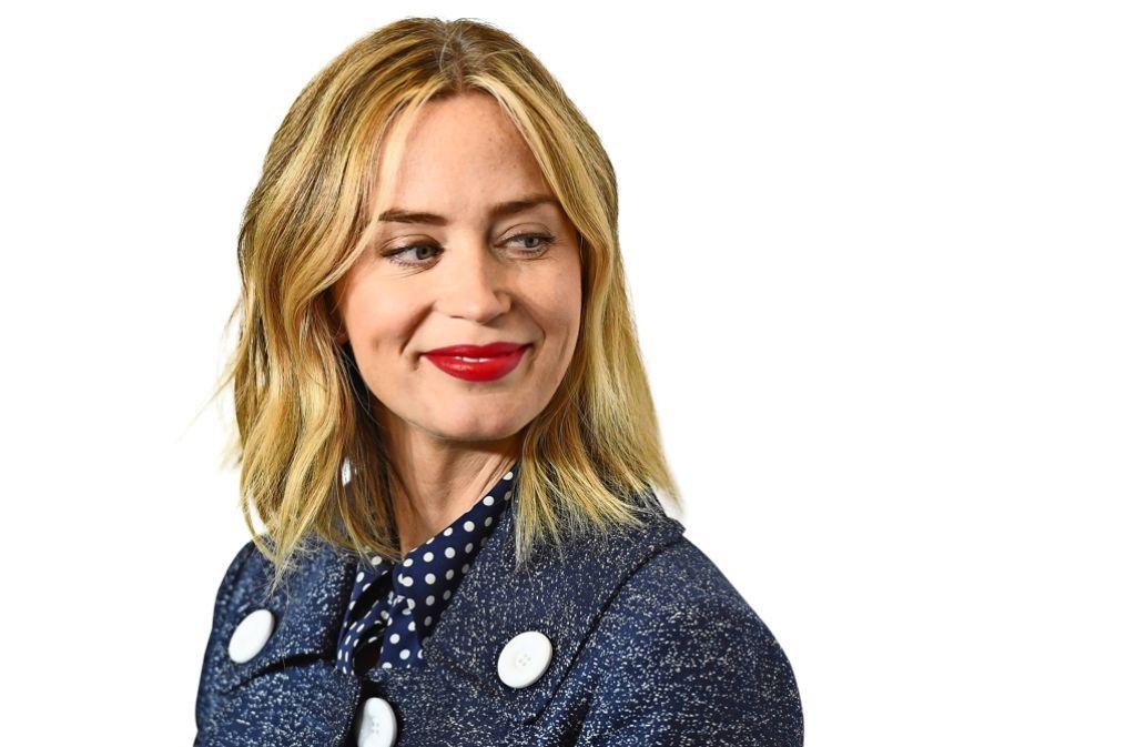 """Die britische Schauspielerin Emily Blunt (""""Der Teufel trägt Prada"""") empfindet großen Druck rund um das Thema Muttersein. Die meisten bösen Kommentare müssten Frauen von ihren Geschlechtsgenossinnen einstecken. Foto: AFP"""