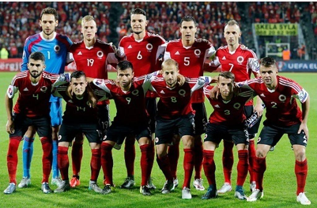 Schweiz Albanien Fussball