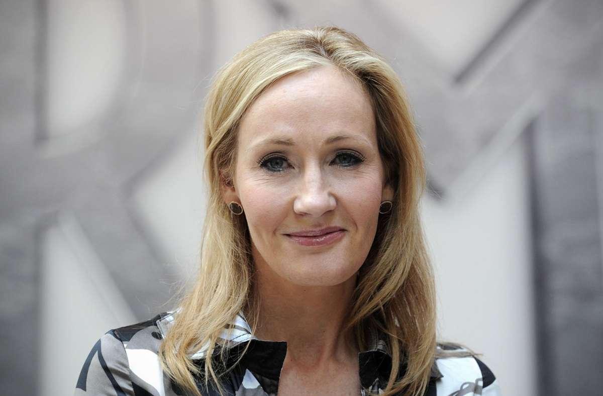 Die britische Autorin Joanne K. Rowling gehört zu den Unterzeichnern des Offenen Briefs. Foto: AFP/Carl Court