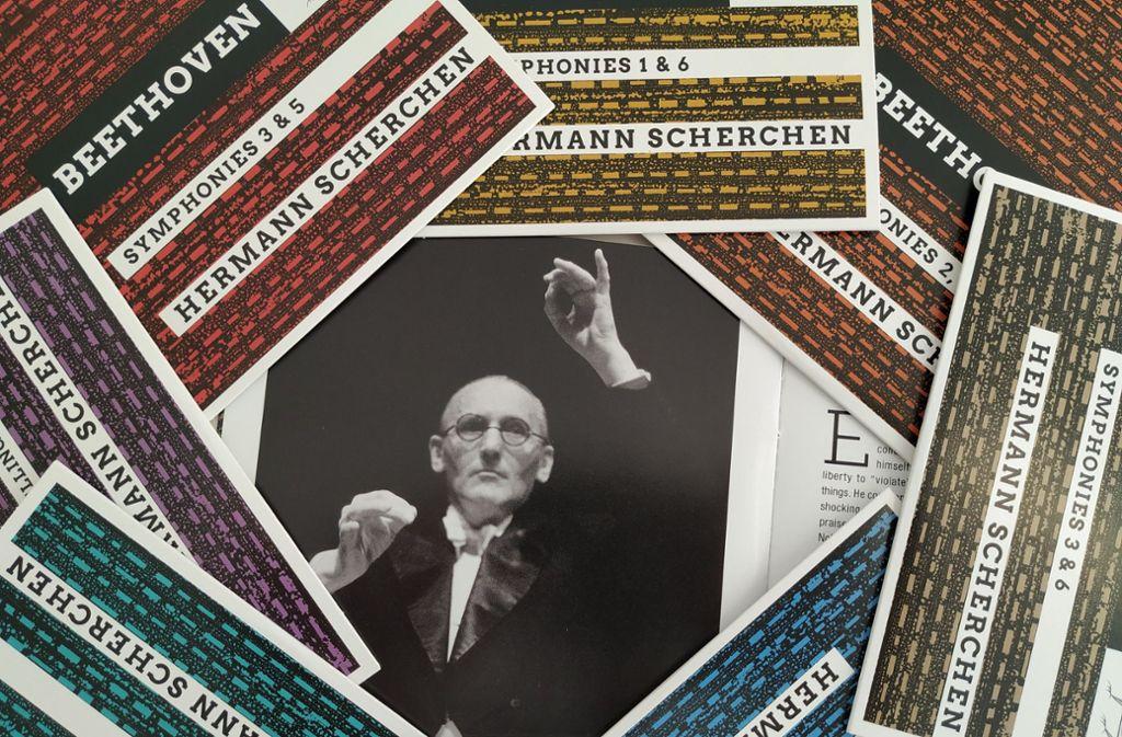 Die DG hat Hermann Scherchen eine aufwendige CD-Box gewidmet. Foto: Hans Jörg Wangner