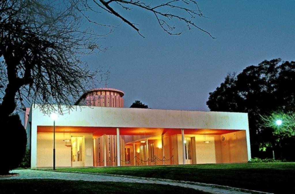Nach dem Zweiten Weltkrieg baute sich Chaim Weizmann in der Nähe Tel Avivs ein repräsentatives Haus, von dem man heute auf die Gebäude seines Instituts schaut. Foto: Weizmann-Institut