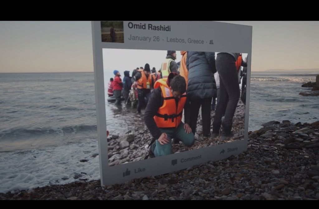 Vor allem in Deutschland wurde das Thema Flüchtlingskrise auf Facebook stark diskutiert. Foto: Screenshot Facebook