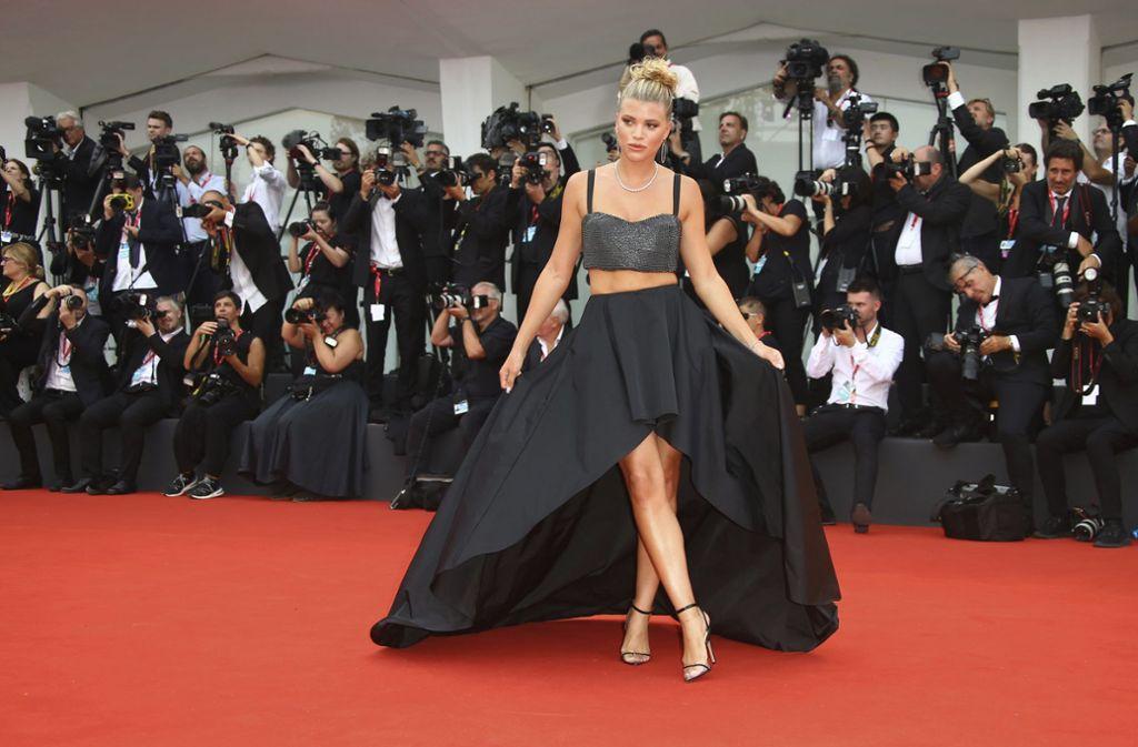 """Sofia Richie, US-amerikanisches Model, bei der Premiere des Films """"La vérité (The Truth)"""". Foto: dpa"""
