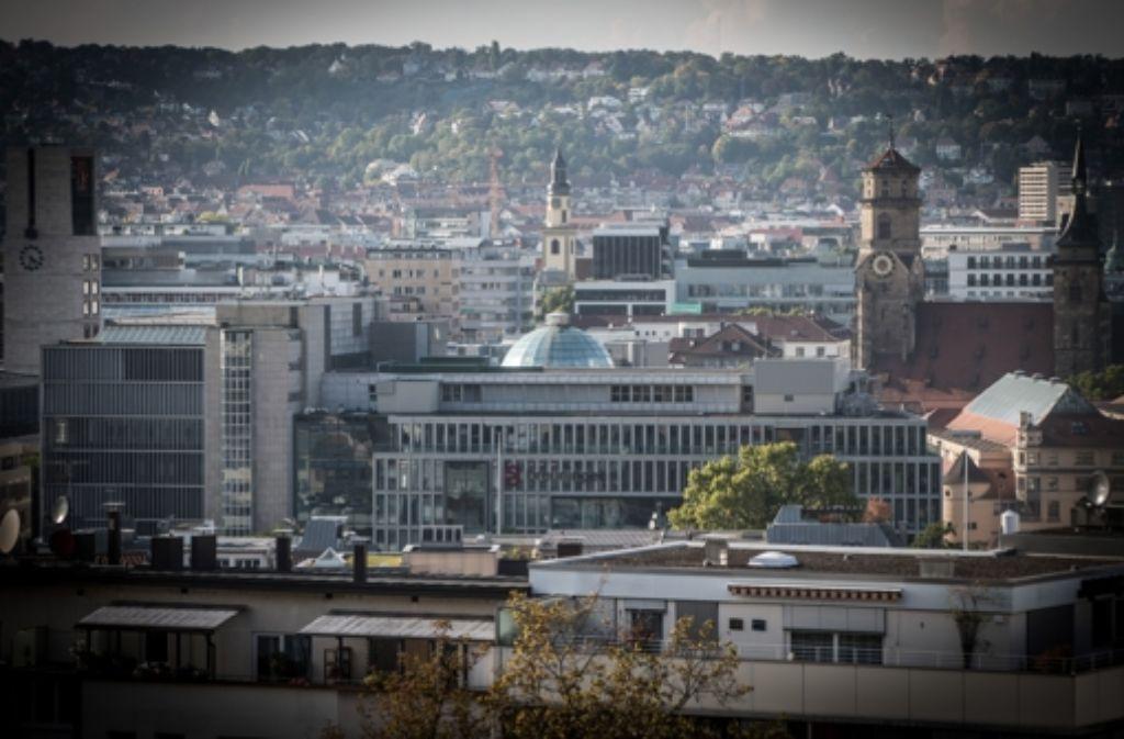 Aufgrund der topografischen Lage Stuttgarts ist Bauland ein rares Gut. Foto: lichtgut/Achim Zweygarth