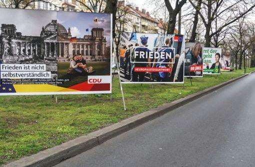 Die Bundestagswahlen rücken näher - Ab wann dürfen Wahlplakate aufgehängt werden? Mehr dazu hier.