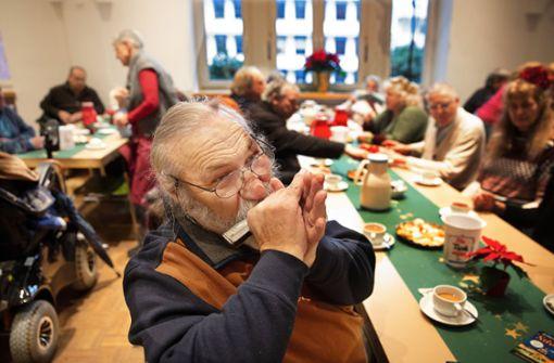 Feier für Einsame und Bedürftige im Haus der Diakonie