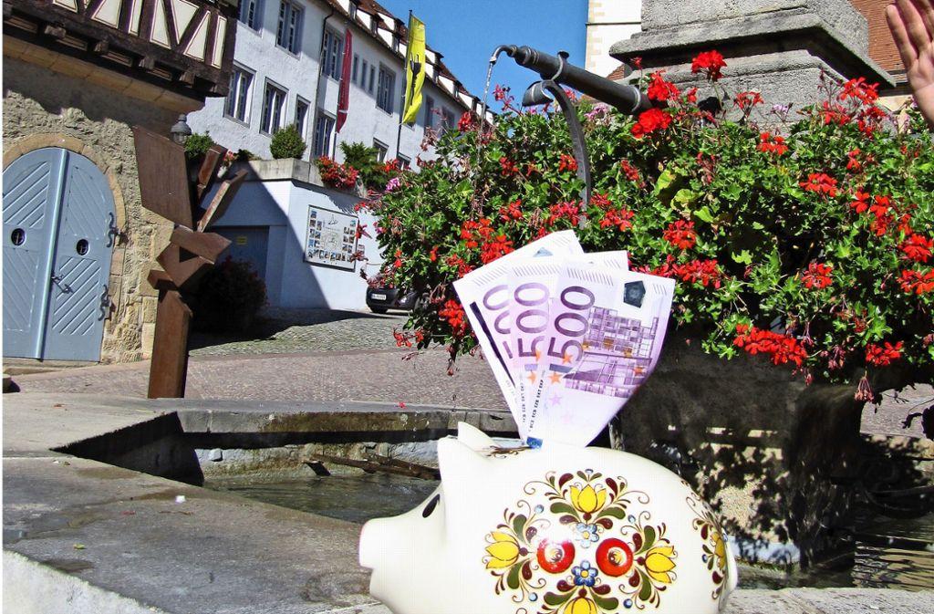 Der Gemeinderat hat als Sofortmaßnahme eine Haushaltssperre verhängt. Foto: Archiv Barner