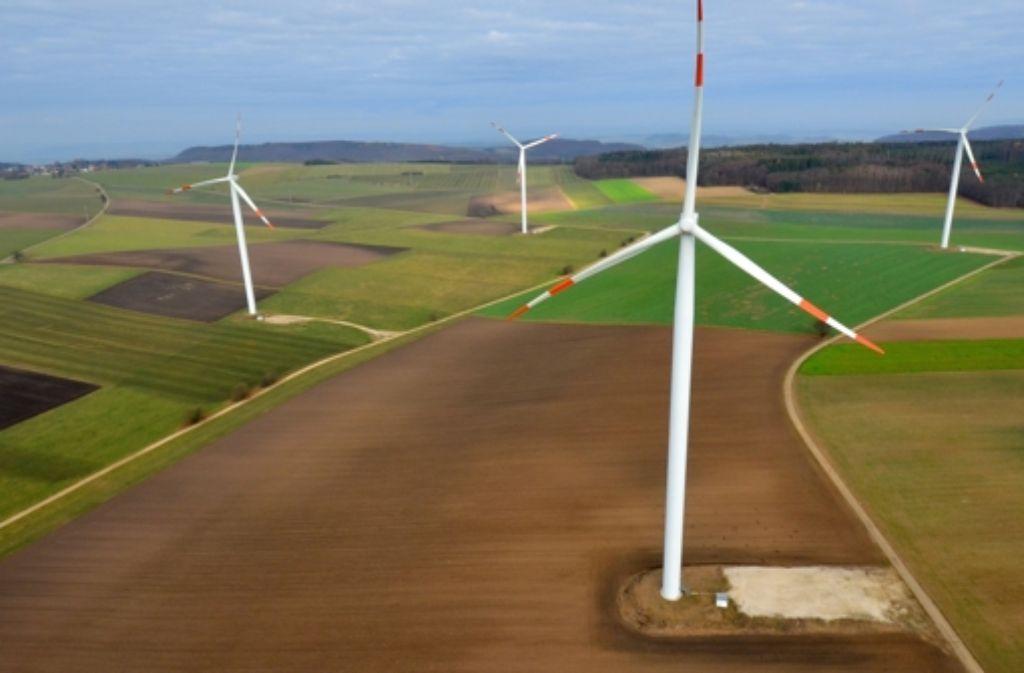 Die Region Stuttgart hat deutlich mehr Windrad-Standorte ausgewiesen als andere Gebiete im  Land. Foto: dpa