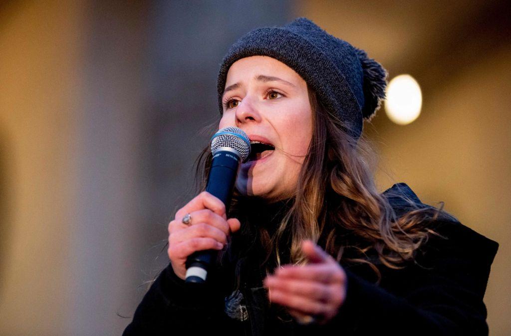 Luisa Neubauer gehört zu den bekannten Gesichtern von Fridays for Future. Foto: AFP/CHRISTOPH SOEDER