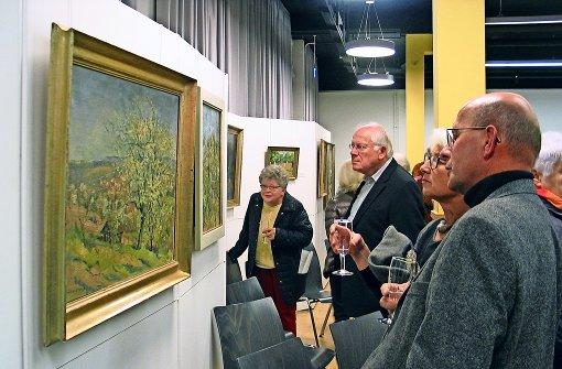 Ein Bezirk feiert seinen bekanntesten Maler