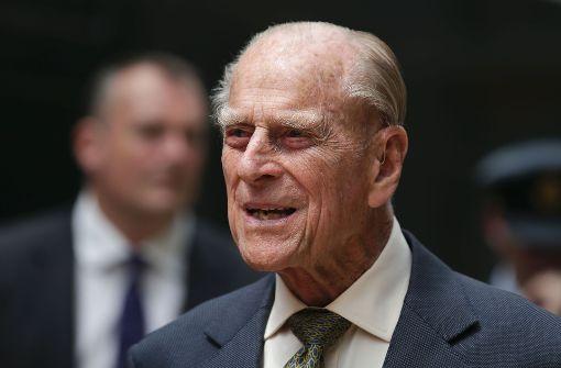 Letzter offizieller Auftritt von Prinz Philip