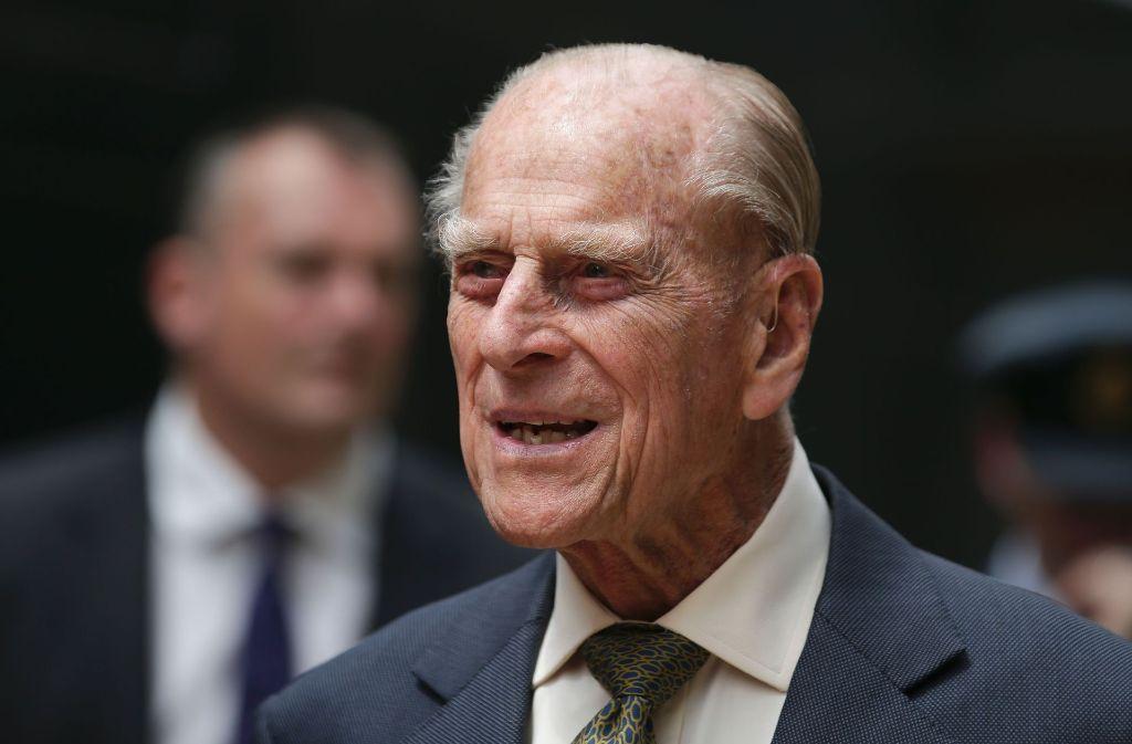Prinzgemahl Philip verabschiedet sich mit 96 Jahren vom Dienst an Nation und Krone. Foto: AFP